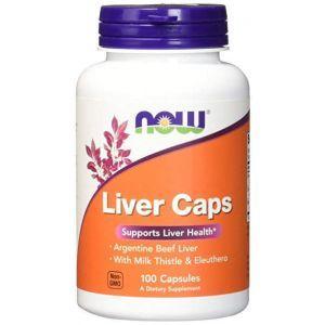 Поддержка печени, (Liver Caps), Now Foods, 100 кап