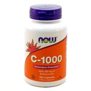 Биофлавоноиды, C-1000, Now Foods, 100 капс