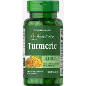 Куркумин,Turmeric, Puritan's Pride, 400 мг, 00 капсул
