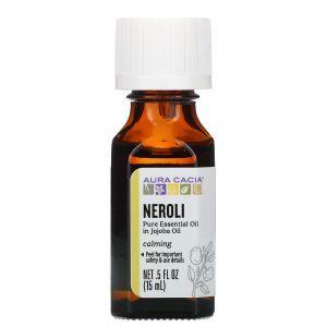 Нероли, в Масле Жожоба (Neroli), Aura Cacia, 15 мл (Default)