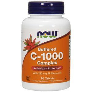 Витамин С комплекс, Vitamin C-1000 Complex, Now Foods, буферизированный, 100 таблеток