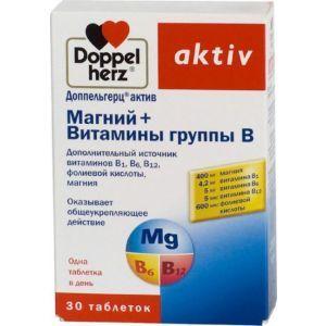 Магний В6, Доппельгерц актив, 30 таблеток