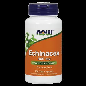 Эхинацея (Echinacea Purpurea), Now Foods, 400 мг, 100 капсул