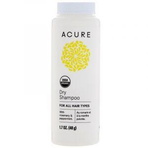 Сухой шампунь с арганой, Dry Shampoo, Acure Organics, 48 г (Default)