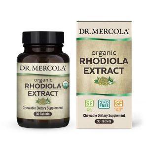 Экстракт родиолы, Dr. Mercola, 340 мг, 30 кап.