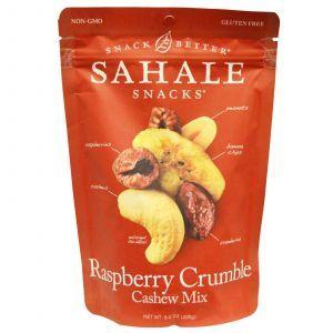 Малиновый крамбль с кешью, Crumble Cashew, Sahale Snacks, 226 г