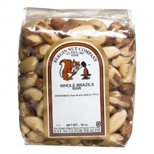 Бразильские орехи, Bergin Fruit and Nut Company, 453,6 г
