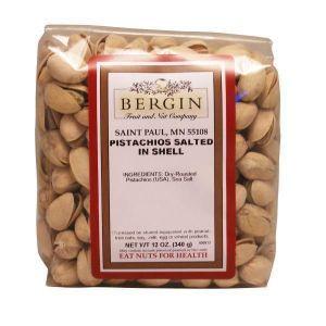 Фисташки соленые, Pistachios, Bergin Fruit and Nut Company, 340 г