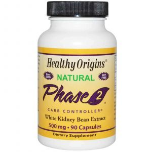 Белая Фасоль Фаза 2, Healthy Origins, 500 мг, 90