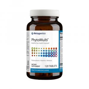 Мультивитамины и минералы, без железа, Phytomulti, Metagenics, 120 таблеток