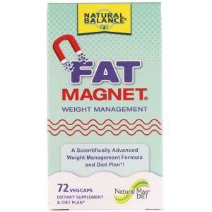 Управление весом, Fat Magnet, Weight Management, Natural Balance, 72 кап. (Default)