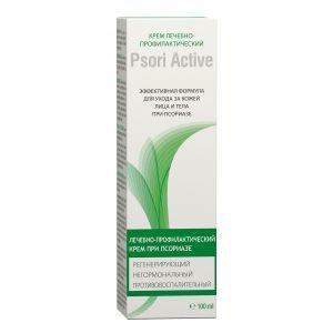 Крем Псори Актив, Cream Psori Active, Botanica, лечебно-профилактический, для лица и тела, при псориазе, 100 мл
