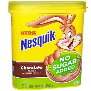 Напиток со вкусом шоколада, Nestle, Nesquik, 453 г (Default)