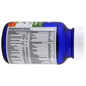Мультивитамины и ферменты для женщин, Multi-Vitamin, Enzymedica, Enzyme Nutrition, 60 капсул