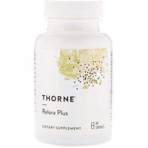 Антистресс формула, Relora Plus, Thorne Research, 60 капсул (Default)