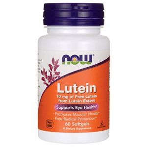 Now Foods, Lutein, 10 mg, 60 Softgels