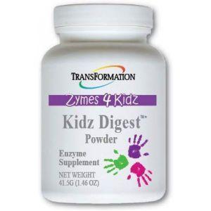 Пищеварительные ферменты для детей, Kidz Digest, Transformation Enzymes, порошок, 41,5 г
