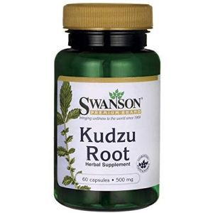 Кудзу корень, Anson Kudzu Root, Swanson, 500 мг, 60 капсул