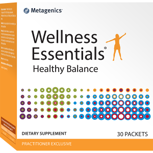 Мультивитамины и минералы, Wellness Essentials Healthy Balance, Metagenics, 30 пакетов