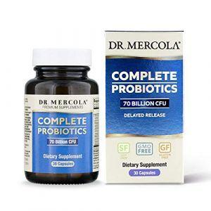 Пробиотики, Complete Probiotics, Dr. Mercola, комплекс для расщепления лактозы, 30 капсул