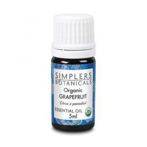 Эфирное масло грейпфрута, Organic Grapefruit, Simplers Botanicals, 5 мл