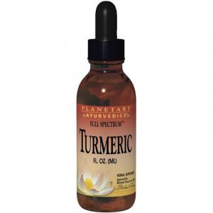 Куркума, полный спектр, Turmeric, Planetary Herbals, 29,57 мл