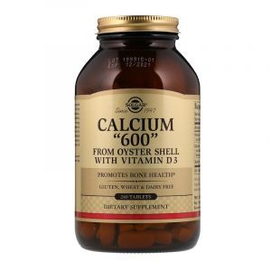 """Кальций из раковин устриц, Calcium """"600"""", Solgar, 240 таблеток (Default)"""