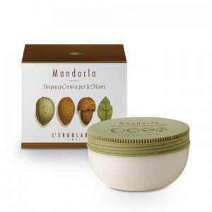 "Крем-маска для рук ""Миндаль"", Impacco Crema Per Le Mani Mandorla, L'Erbolario, 200 мл"