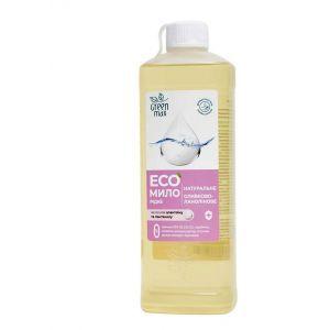 ЭКОмыло жидкое оливково-ланолиновое, Green Max, 500 мл