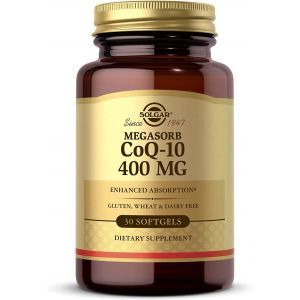 Коэнзим Q10, Megasorb CoQ-10, Solgar, 400 мг, 30 гелевых капсул