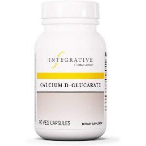 Кальций Д-глюкарат, Calcium D-Glucarate, Integrative Therapeutics, 90 вегетарианских капсул