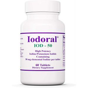 Йодорал, Iodoral, IOD-50, Optimox, 50 мг, 60 таблеток