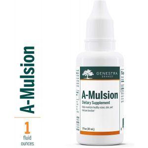 Витамин А, в эмульгированной форме, A-Mulsion, Genestra Brands, цитрусовый вкус, 30 мл.