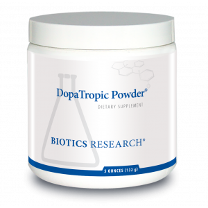 L-дофа, DopaTropic® Powder, Biotics Research, 132 гр.