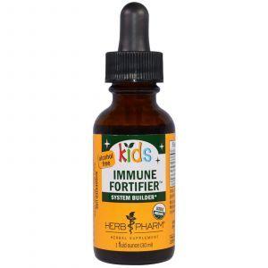 Укрепления иммунитета у детей, без спирта (Immune Fortifier), Herb Pharm, 30 мл