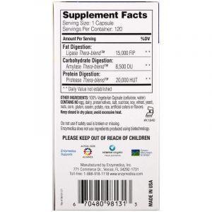 Оптимизатор переваривания жира, Enzymedica, 120 кап. (Default)