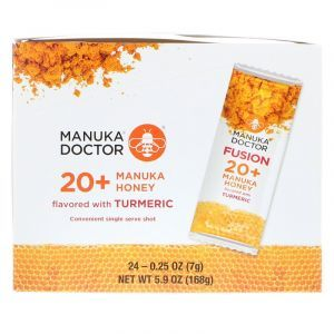 Мед манука 20+ с куркумой, Manuka Honey, Manuka Doctor, 24 пакетика по 7 г (Default)
