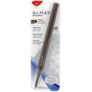Карандаш для бровей, коричневый, Brow Pencil, Almay, 0,2 г