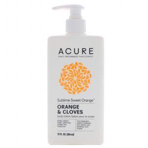Лосьон для тела с маслом апельсина и гвоздики, Body Lotion, Acure Organics, 354 мл