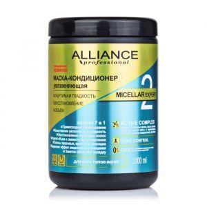 """Маска-кондиционер для всех типов волос, увлажняющая """"Micellar Expert"""", Alliance Professional, 1 л"""