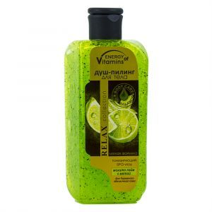 Душ-пилинг для тела мохито лайм с мятой, Energy of Vitamins, 250 мл