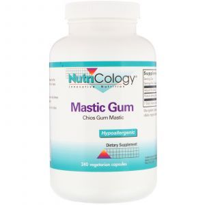 Смола мастикового дерева, Mastic Gum, Nutricology, 240 кап.