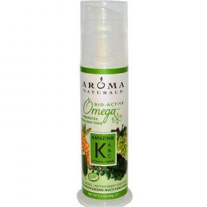 Многофункциональный крем с витаминами К, А и С, Aroma Naturals, 94 г