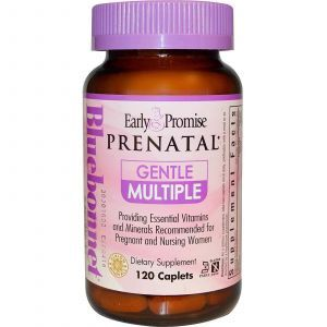 Витамины для беременных, Bluebonnet Nutrition, 120к