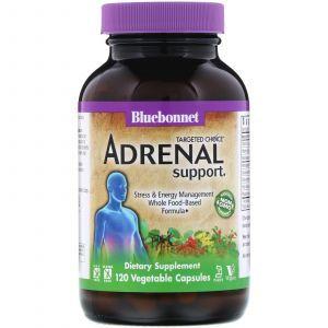 Поддержка надпочечников, Targeted Choice, Adrenal Support, Bluebonnet Nutrition, 120 кап.