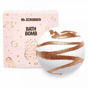 Бомбочка для ванн золото, Bath Bombs, Mr.Scrubber, в подарочной коробке, 200 г