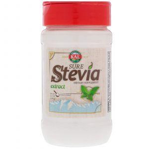 Натуральный экстракт ствеии, Stevia Natural Extract, KAL, 100 г