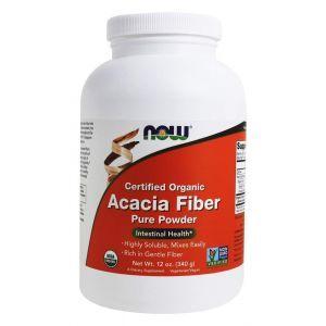 Волокна акации, Acacia Fiber, Now Foods, органик, 340