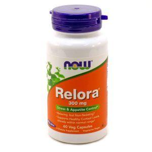 Снижение кортизола релора, Relora, Now Foods, 300 мг, 60 кап