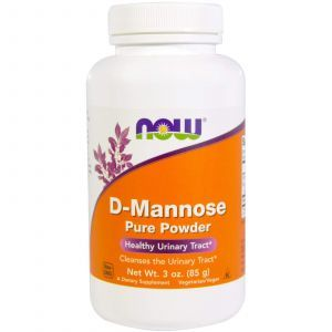 Д-Манноза, D-Mannose, Now Foods, порошок, 85